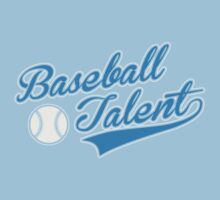 Baseball Talent Kids Tee