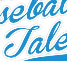 Baseball Talent Sticker
