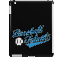 Baseball Talent iPad Case/Skin