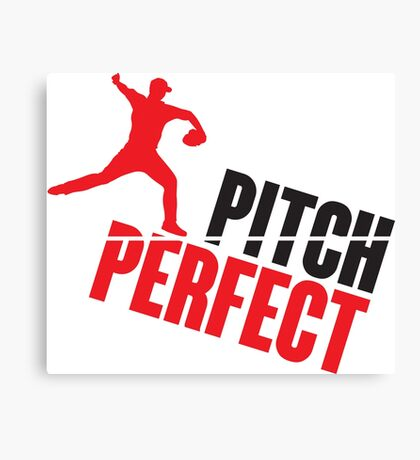 Pitch perfect Canvas Print