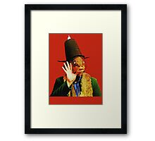 Captain Beefheart Trout Mask Replica Framed Print