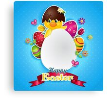 HAPPY EASTER... Canvas Print