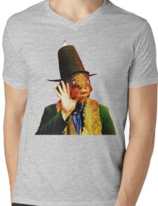 Captain Beefheart Trout Mask Replica Mens V-Neck T-Shirt
