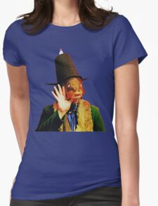 Captain Beefheart Trout Mask Replica Womens Fitted T-Shirt