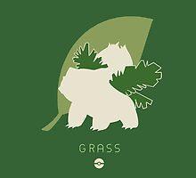 Pokemon Type - Grass by spyrome876