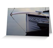 Bow line Greeting Card