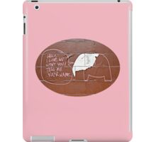 Song of the Elephant  iPad Case/Skin
