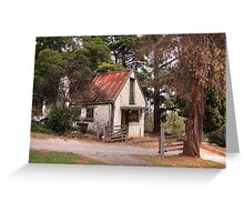 Artists Cottage Greeting Card
