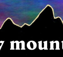 Rocky Mountains Sticker