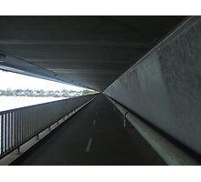 Underneath The Mt Henry Bridge. Mt Pleasant. Photographic Print