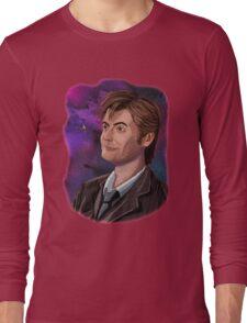 David Tennant the 10th Doctor Long Sleeve T-Shirt