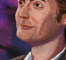 David Tennant the 10th Doctor Sticker