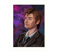 David Tennant the 10th Doctor Art Print