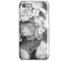 Hydrangea in Black and White iPhone Case/Skin