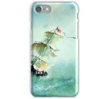 Into the Lifeboat iPhone Case/Skin