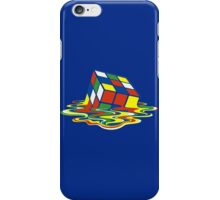 Rubiks Magic Cube in the Ocean Sea iPhone Case/Skin