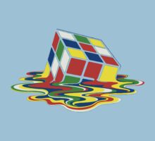 Rubiks Magic Cube in the Ocean Sea Kids Clothes