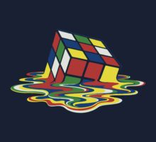 Rubiks Magic Cube in the Ocean Sea Kids Clothes