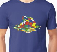 Rubiks Magic Cube in the Ocean Sea Unisex T-Shirt