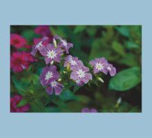 Sweet Pink Dianthus Flowers Kids Tee