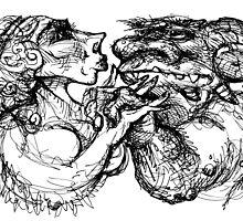 Doomed Lovers. by John Gieg