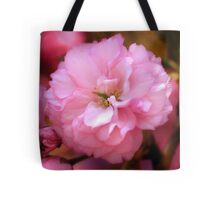 Lovely Spring Pink Cherry Blossoms Tote Bag
