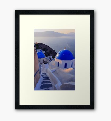 Greek Islands Framed Print
