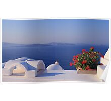 Greek Islands Poster