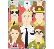 Time For Love And Adventure (Faces & Movies) iPad Case/Skin