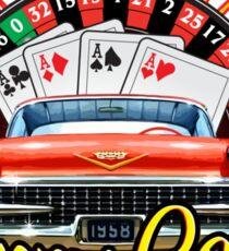 Johhny Casino Autoshop Sticker