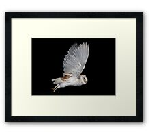 The Launch Framed Print
