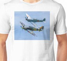 Sea Hurricane & Spitfire formation Unisex T-Shirt