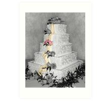 Wedding Cake Art Print