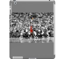 Micheal Jordan- Last Shot iPad Case/Skin