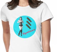 Sofia Syntaxx BOMBER [Color] Womens Fitted T-Shirt