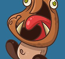 Excited Goomba by artdyslexia