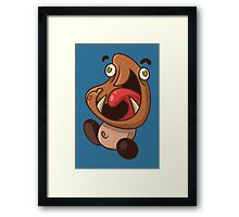 Excited Goomba Framed Print