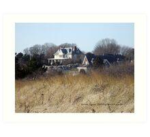 Watch Hill, Rhode Island - East Beach Art Print