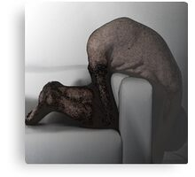 WHY DID WE LEAVE HIM THERE? Metal Print