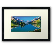 North America Landscape Framed Print