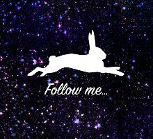 Follow the white rabbit by MartaOlgaKlara