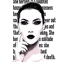 Lady In The House Of Love Photographic Print