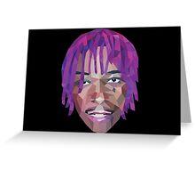 Wiz Khalifa Purp Lowpoly Greeting Card