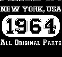 made in new york usa 1964 all original parts by teeshoppy