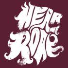 Hear me Roar - White by Stefan Große Halbuer