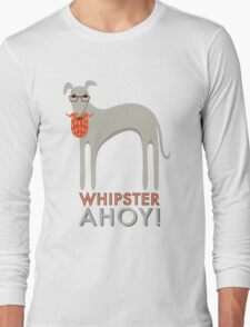 Whipster Ahoy! Long Sleeve T-Shirt