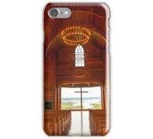 Chapel of the Ozarks iPhone Case/Skin