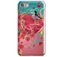 Hearts and Roses iPhone Case/Skin