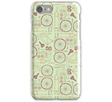 Bicycle Parts iPhone Case/Skin