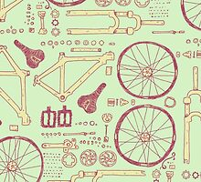 Bicycle Parts by exeivier